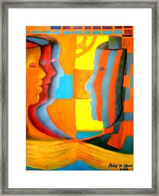 Polymorphism I Framed Print by Philip Okoro