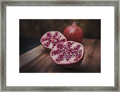 Pomegranates Framed Print by Tom Mc Nemar