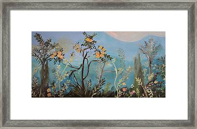 Pompeii One Framed Print by Julie Todd-Cundiff