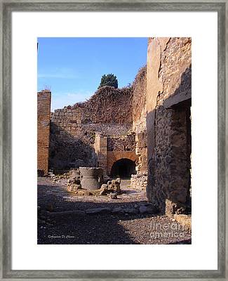 Pompeii,italy Framed Print by Italian Art