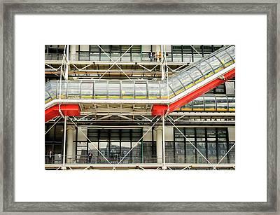 Pompidou 2 Framed Print by Pablo Lopez