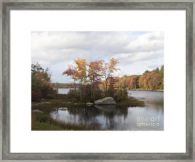 Ponaganset Autumn 2015 Framed Print