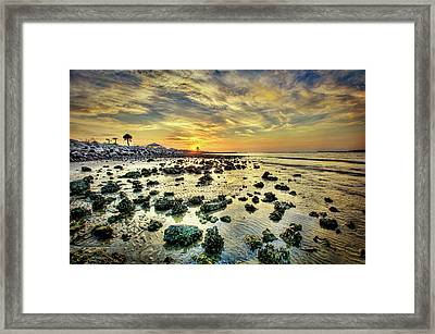 Ponce Inlet Jetty Framed Print