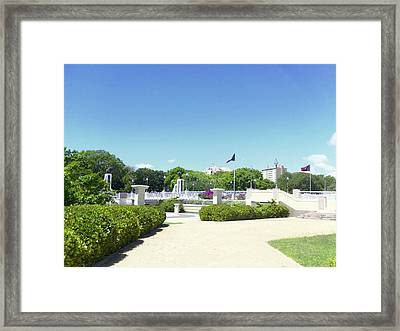 Ponce's Ecological Park Framed Print