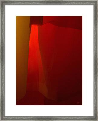 Poncho Abstract 1 Framed Print by Jeff Breiman