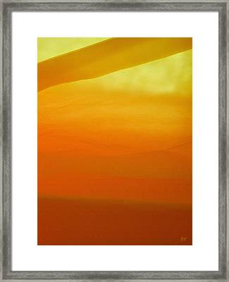 Poncho Abstract 10 Framed Print by Jeff Breiman