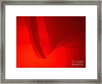 Poncho Abstract 7 Framed Print by Jeff Breiman