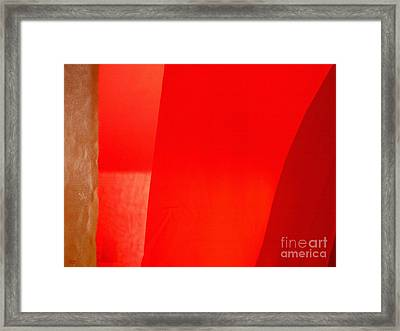 Poncho Abstract 9 Framed Print by Jeff Breiman