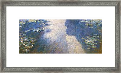 Pond Monet Framed Print by Valeriy Mavlo