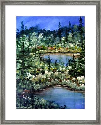 Pond Pond Framed Print by Mark Farr
