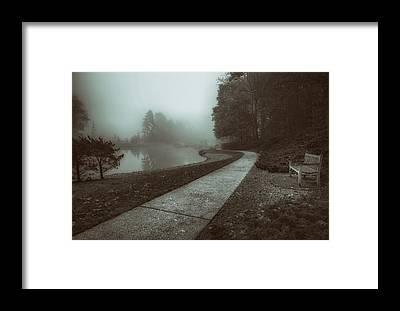 Walkway Framed Prints