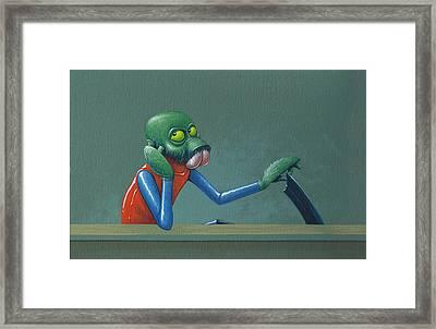 Ponda Baba Framed Print by Jasper Oostland