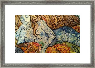 Ponder Framed Print by Claudia Cole Meek