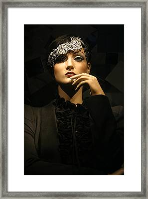 Ponder Me For A Moment Framed Print by Jez C Self