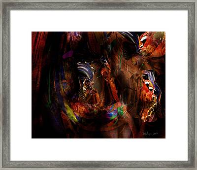 Ponder The Deep Mysteries Of Existence Framed Print