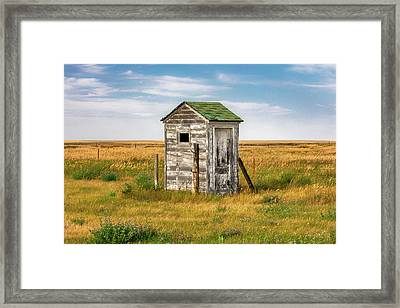 Pendroy Outhouse Framed Print by Todd Klassy