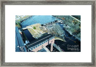 Ponemah Mill And Dam Framed Print