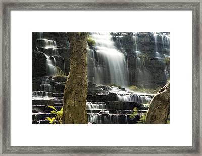Pongour Falls 2 Framed Print by Alan Kepler