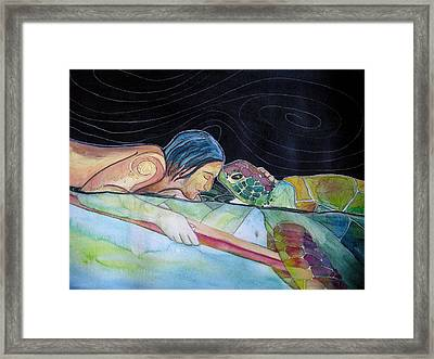 Pono--harmony Framed Print