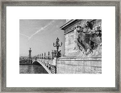 Pont Alexandre Framed Print
