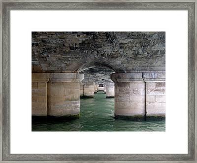 Pont De La Concorde Paris Framed Print