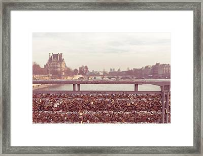 Pont Des Arts Framed Print by Marcus Karlsson Sall