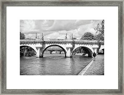 Pont Neuf, Paris Framed Print