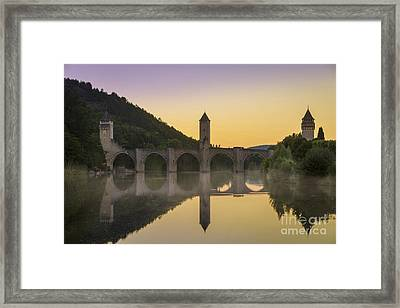 Pont Valentre - Cahors Framed Print by Brian Jannsen