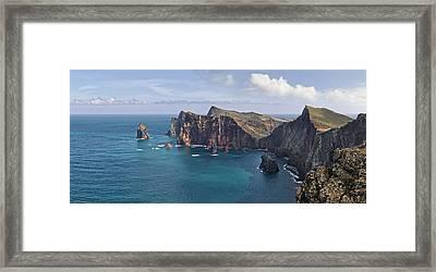 Punta San Lorenzo  Framed Print
