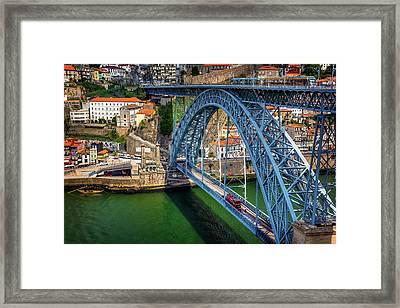 Ponte Luis Porto Portugal  Framed Print