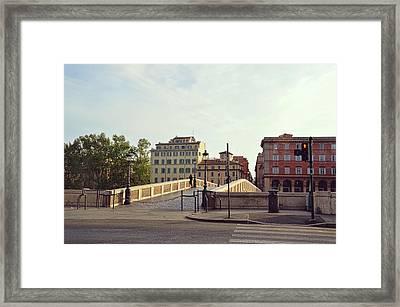 Ponte Sisto Framed Print by JAMART Photography