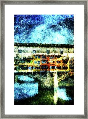 Ponte Vecchio Framed Print by Andrea Barbieri