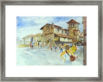 Ponti Vecchio Framed Print