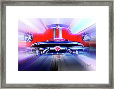 Pontiac 1953 Framed Print