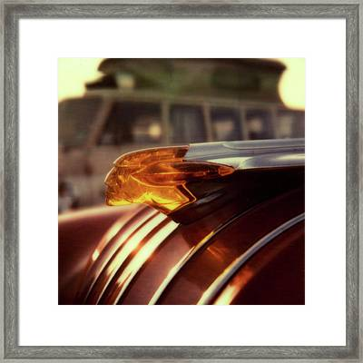 Pontiac And Vw Framed Print by Chad Schaefer