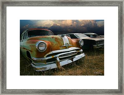 Pontiac Chieftain Framed Print by Andrea Kelley