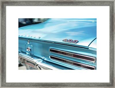 Pontiac Firebird 400 Closeup Framed Print by Mike Reid