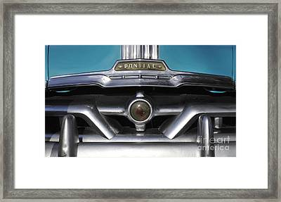 Pontiac Grill Framed Print by David Lee Thompson