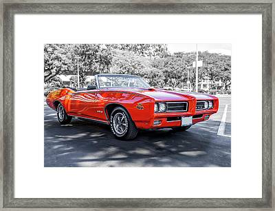 Pontiac G T O Judge Framed Print