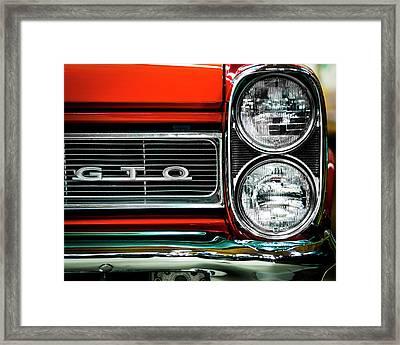 Pontiac Gto Framed Print