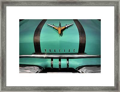 Pontiac One Framed Print by Jerry Golab