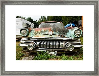 Pontiac Smile Framed Print by Jennifer  Owen