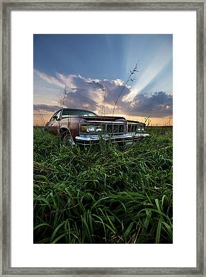 Pontiac Sunset  Framed Print