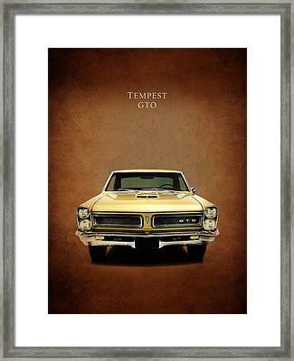 Pontiac Tempest Gto Framed Print