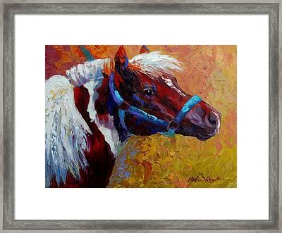 Pony Boy Framed Print by Marion Rose