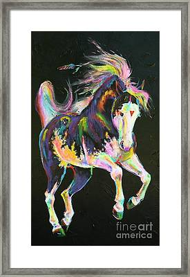 Pony Power I Framed Print by Louise Green