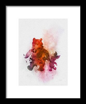 Tigger Framed Prints