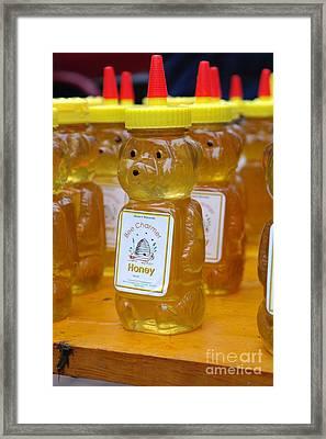 Pooh Honey Framed Print by David Bearden
