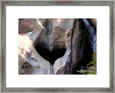 Pool Of Love Framed Print by Marta Robin Gaughen