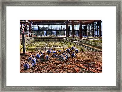 Pool Of Sorrow Framed Print by Evelina Kremsdorf